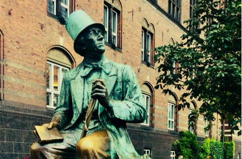 Hans Christian Andersen, by Henry Luckow-Nielsen